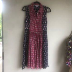 DVF Floral Dress